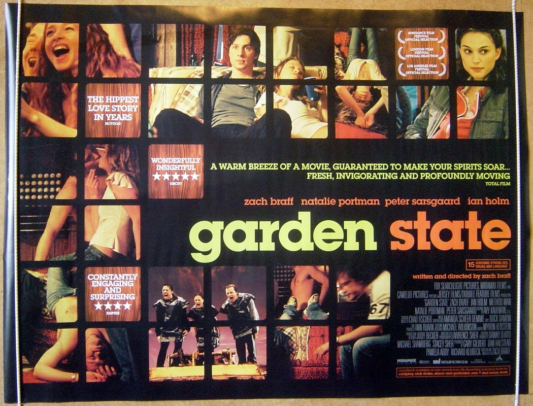 Garden State - Original Cinema Movie Poster From ...