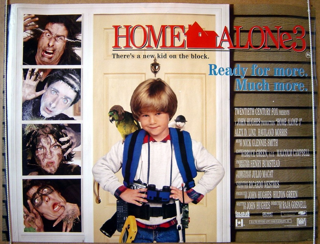 Home Alone 3 - Original Cinema Movie Poster From ...