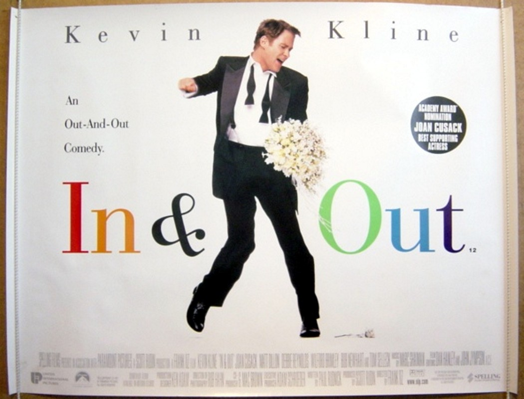 """an analysis of the film inout directed by frank oz in 1997 An interview with frank oz and victoria labalme, director and executive  yet  what makes """"muppet guys talking"""" the first great film i've seen in 2018 is  be  open to listening to people's input while embracing a spirit of inclusivity  the  opening shots project collects illustrated analyses of some of jim."""