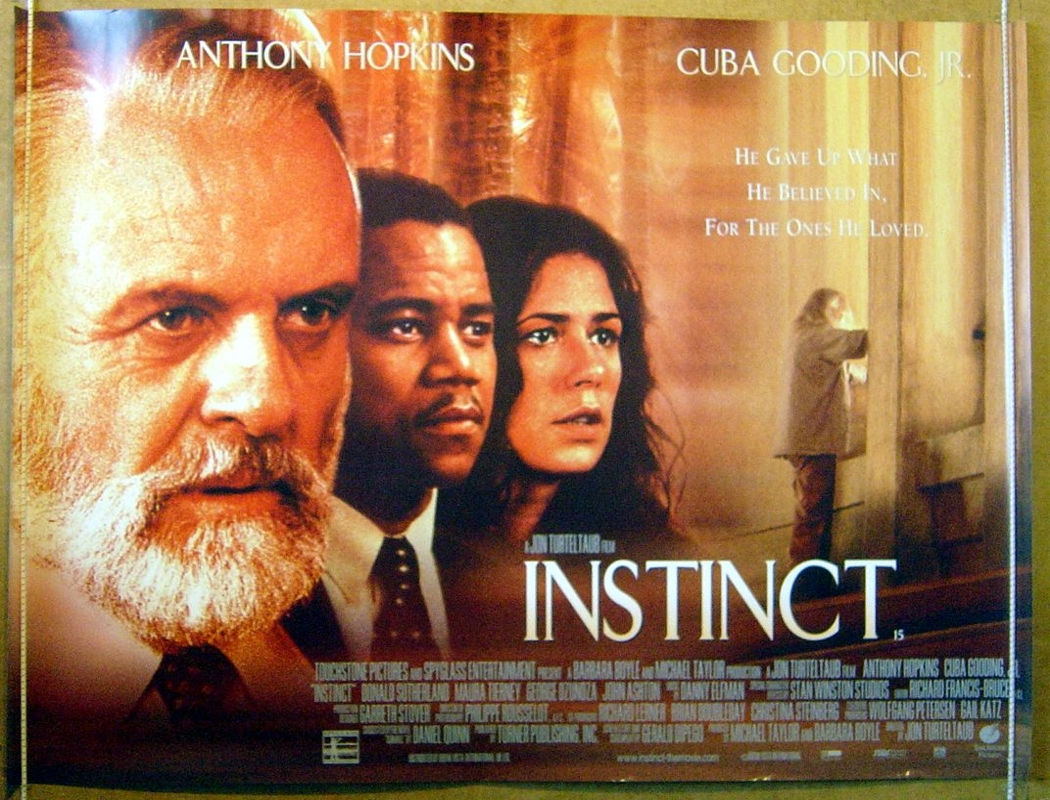 Movie Posters 1999: Instinct (1999) Movie