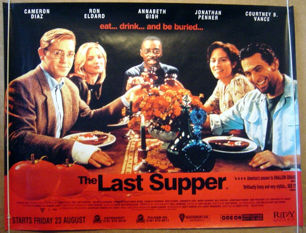 movie the last supper Last supper jesus shares his final meal with his disciples, who partake in the first communion and learn of the impending betrayal, death, and resurrection.