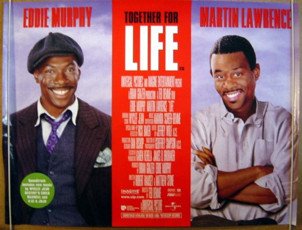 Movie Posters 1999: LIFE (1999) Original Cinema Quad Movie Poster