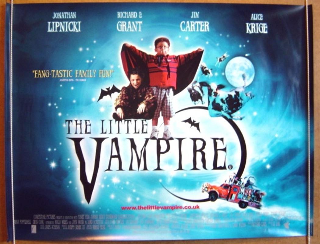Movie Posters 2000: THE LITTLE VAMPIRE (2000) Original Quad Movie Poster