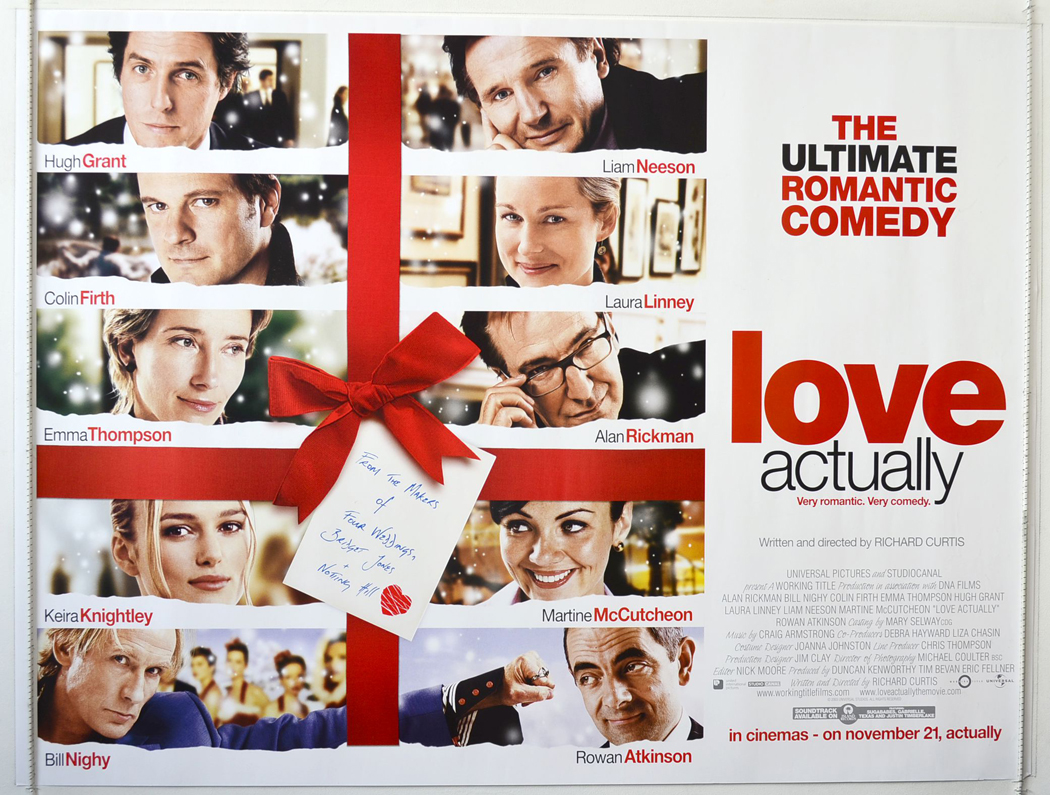 Cue Cards Love Actually - YouTube