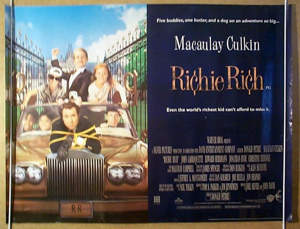 Richie Rich Movie Richie Rich Movie Logo...