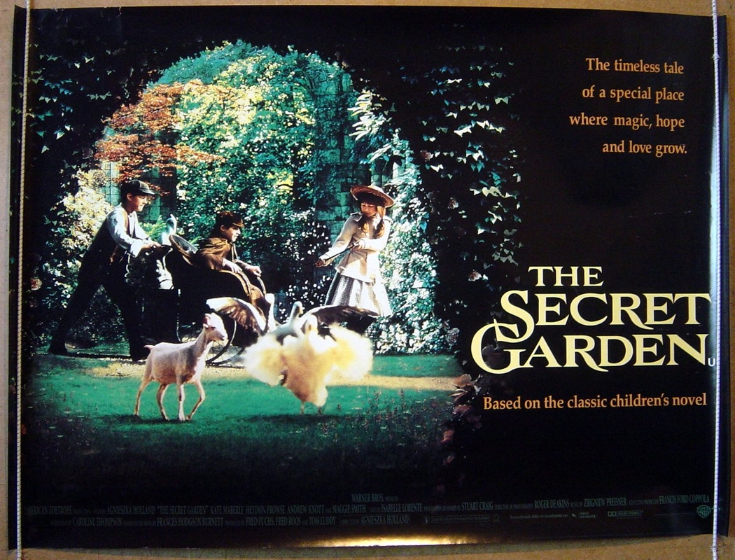 Secret Garden The Original Cinema Movie Poster From British Quad Posters And