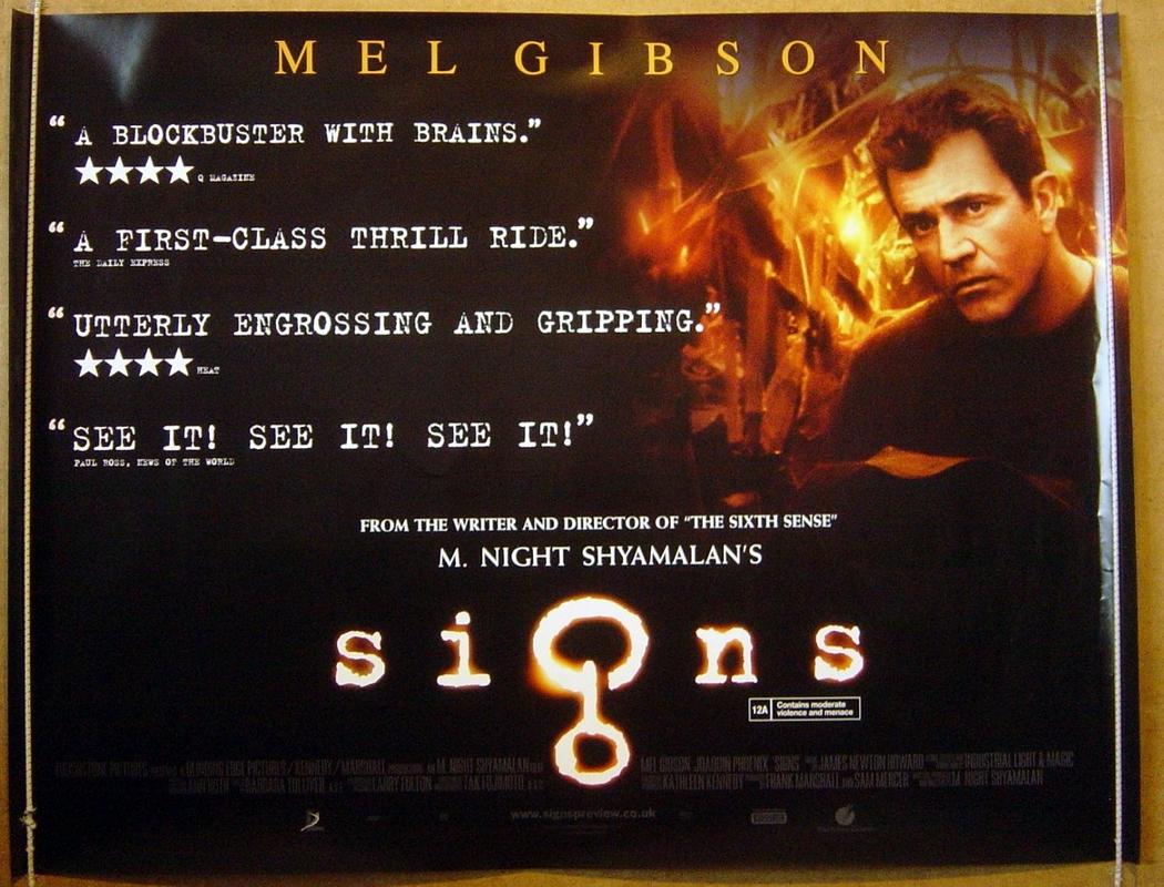 signs movie poster wwwpixsharkcom images galleries