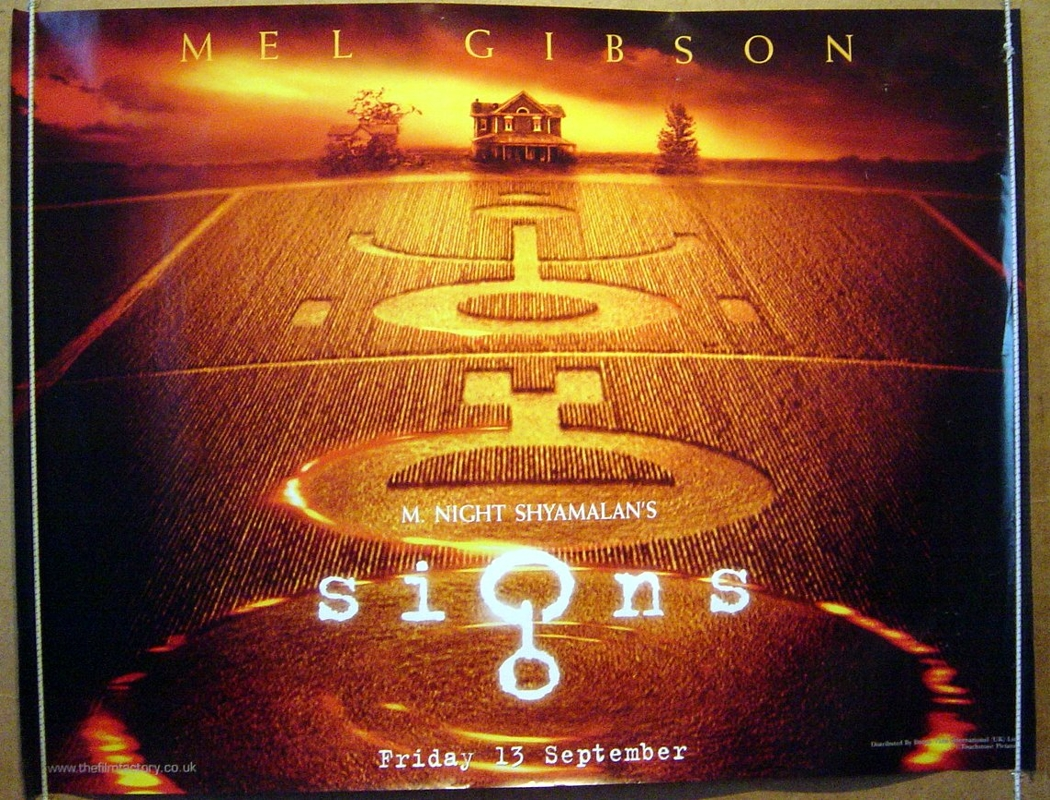 signs teaser original cinema movie poster from