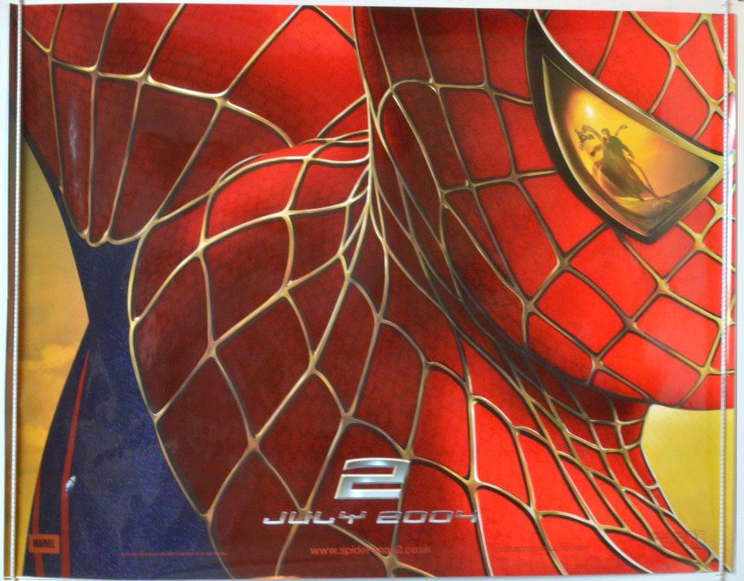 Spider man 2 teaser original cinema movie poster from british quad posters - Quad spiderman ...