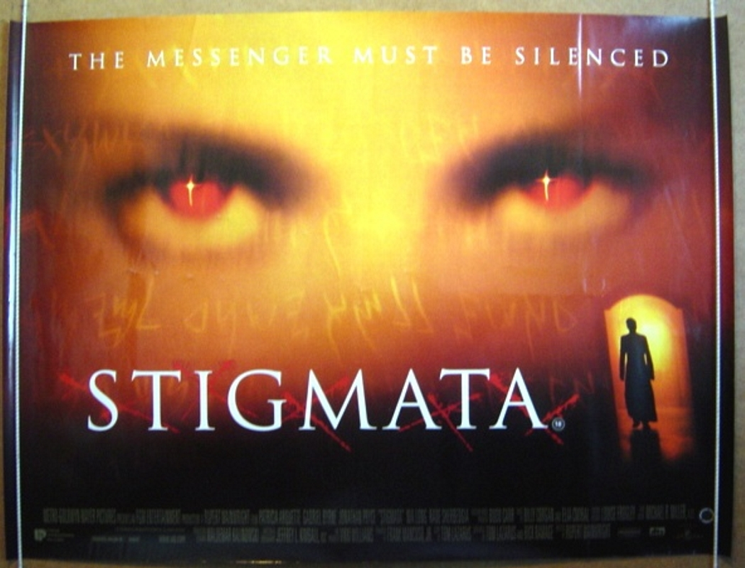 stigmata original cinema movie poster from pastposters