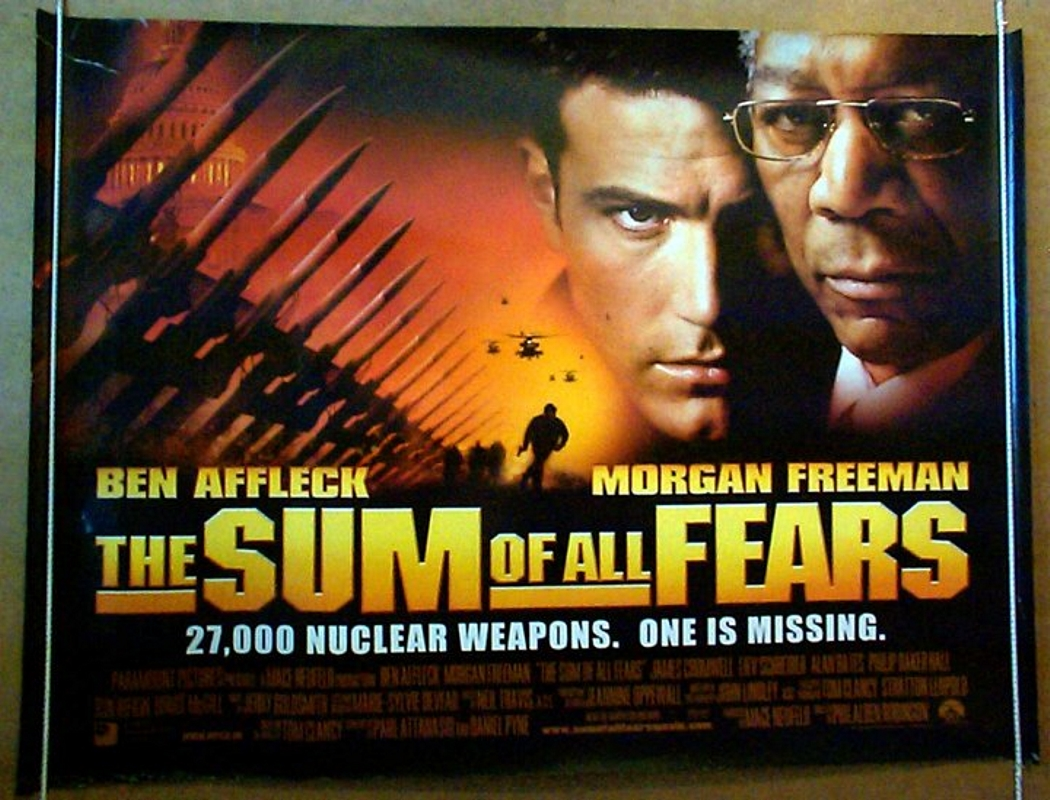 sum of all fears the original cinema movie poster from
