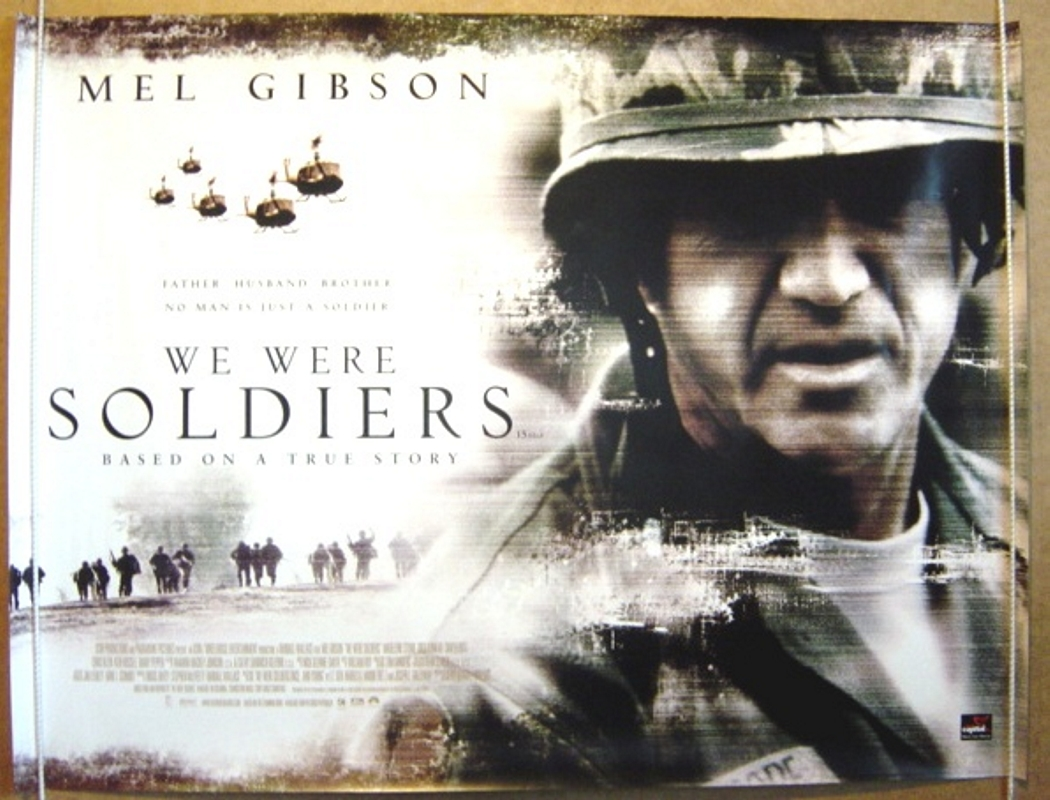"""movie review we were soldiers once We were soldiers once and young has 22,433 ratings and 541 reviews  he said """"you ever seen that movie 'we were soldiers' well i was one of the soldiers ."""