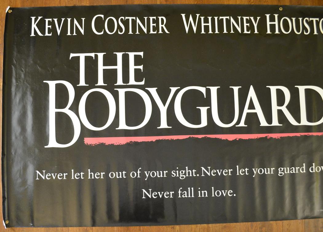 Bodyguard The Cinema Banner Original Cinema Movie