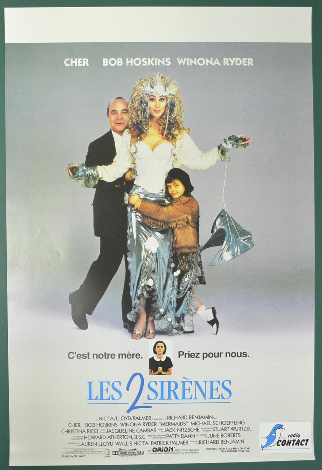 mermaids original belgian movie poster original cinema