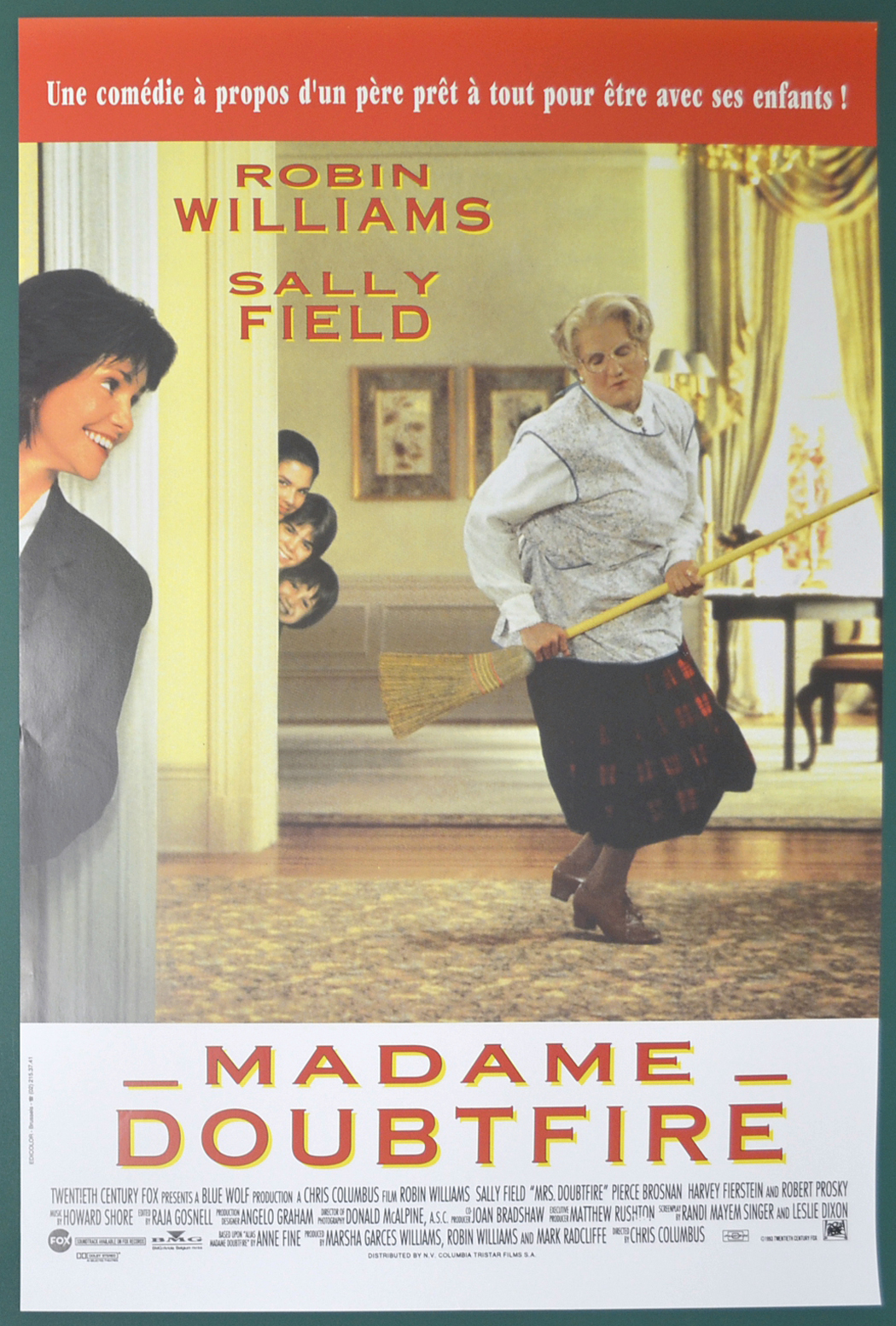 Mrs. Doubtfire (Original Belgian Movie Poster) - Original ...