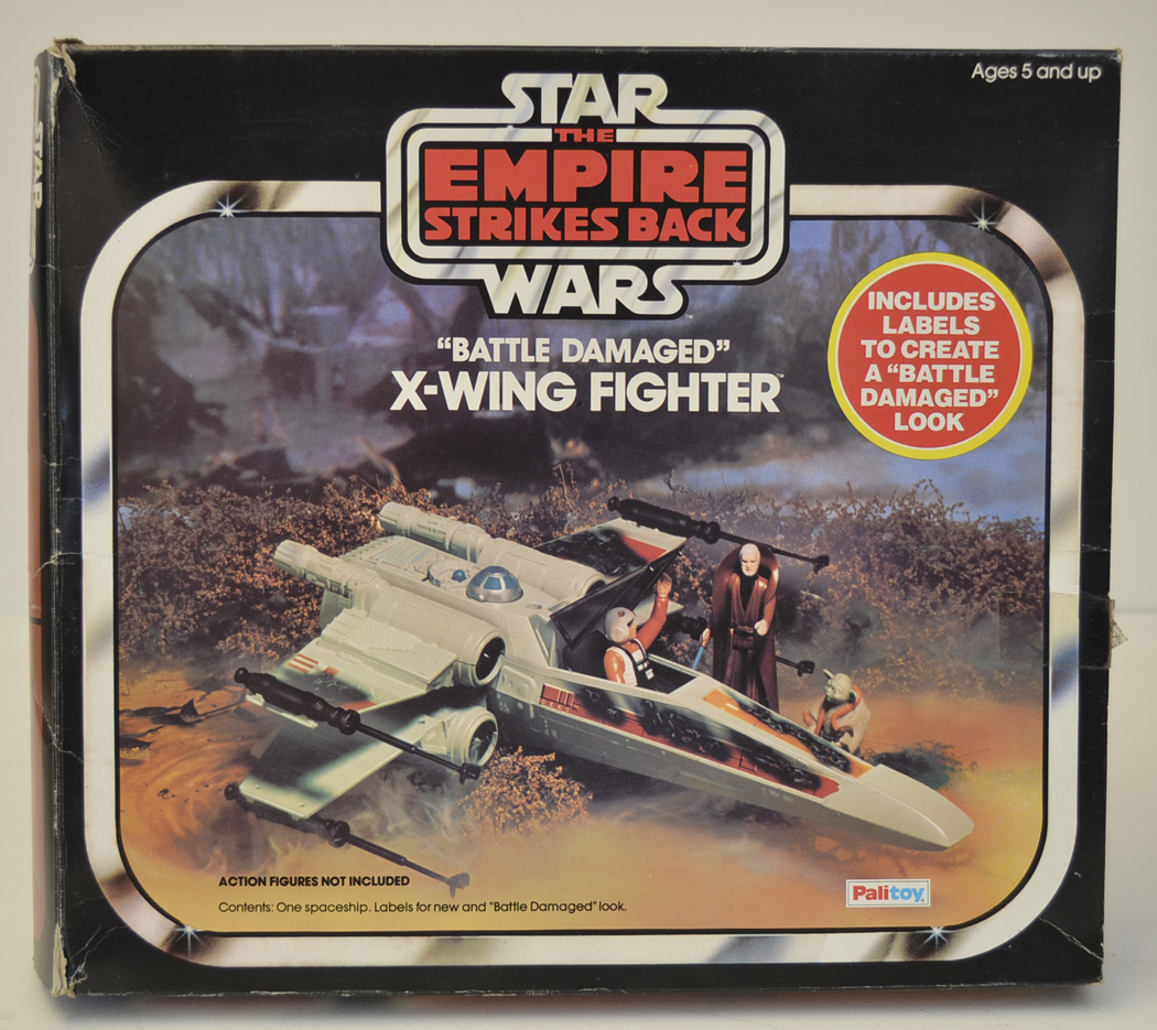 1977 Star Wars X Wing Fighter In Box: Star Wars : The Empire Strikes Back