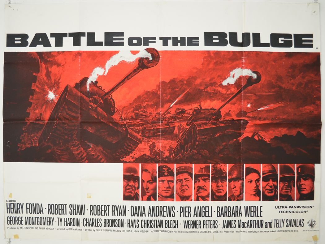the details of the battle of the budge Directed by ken annakin with henry fonda, robert shaw, robert ryan, dana andrews a dramatization of nazi germany's final western front counterattack of world war ii.