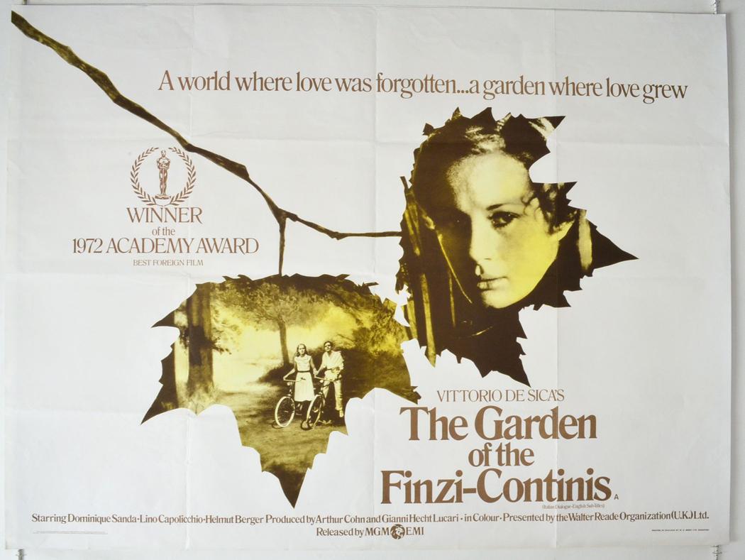 Garden of the finzi continis the a k a il giardino dei for Il giardini