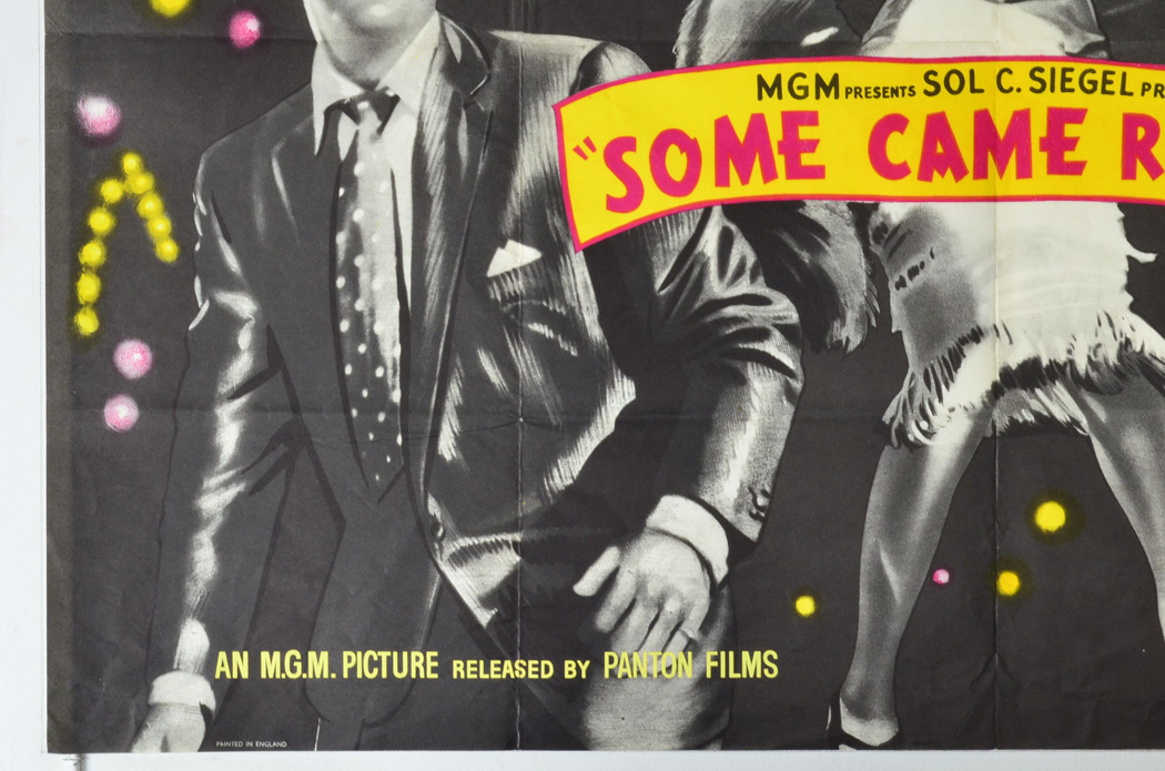 some came running original cinema movie poster from