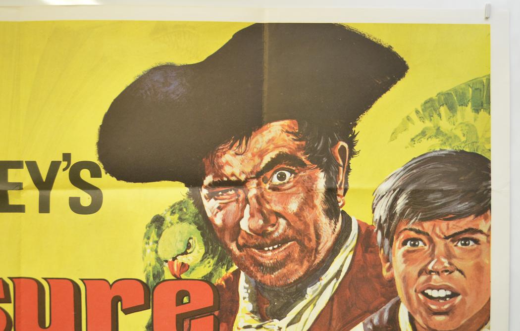 Treasure Island 1975 Re Release Poster Original Cinema