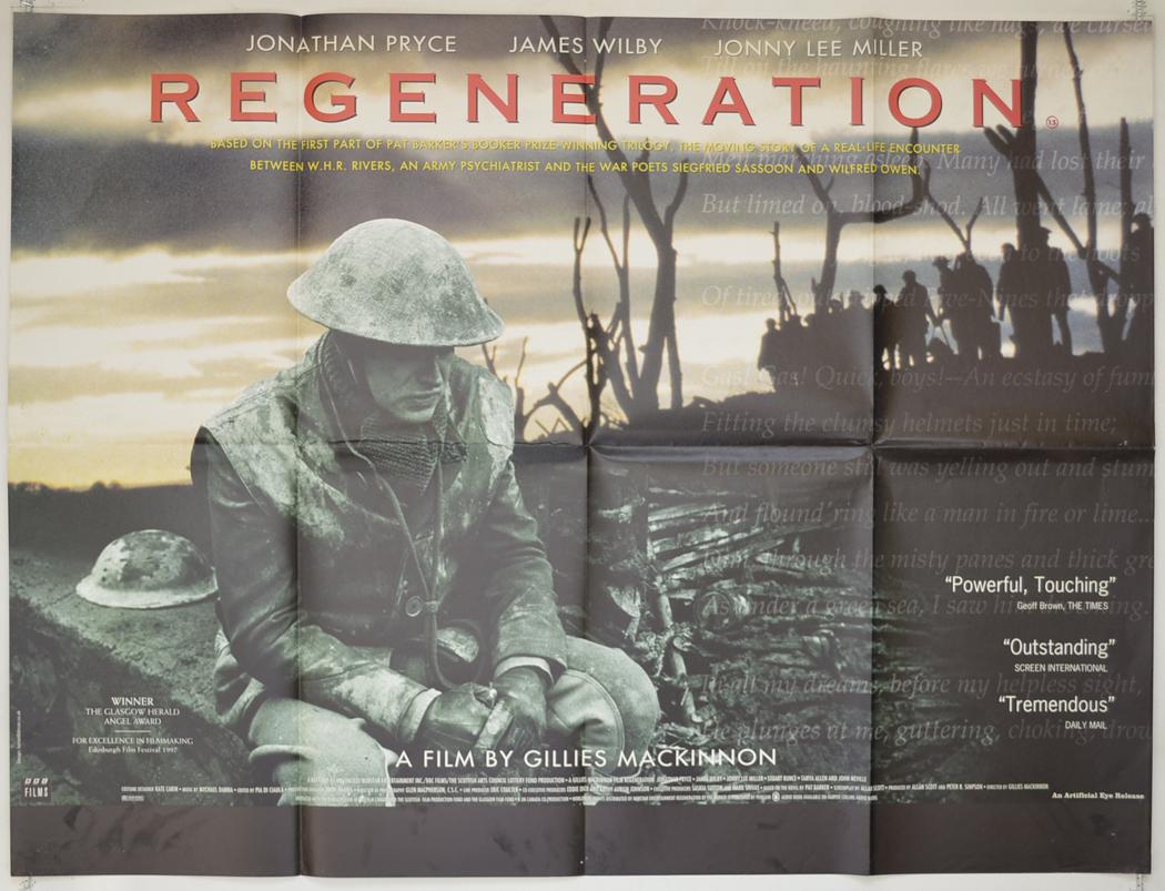 Movie Posters 1997: REGENERATION (1997) Original Quad Movie Poster