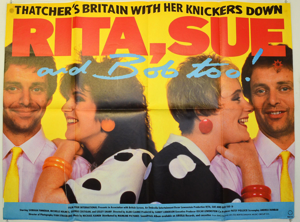 Image result for Rita sue and Bob poster