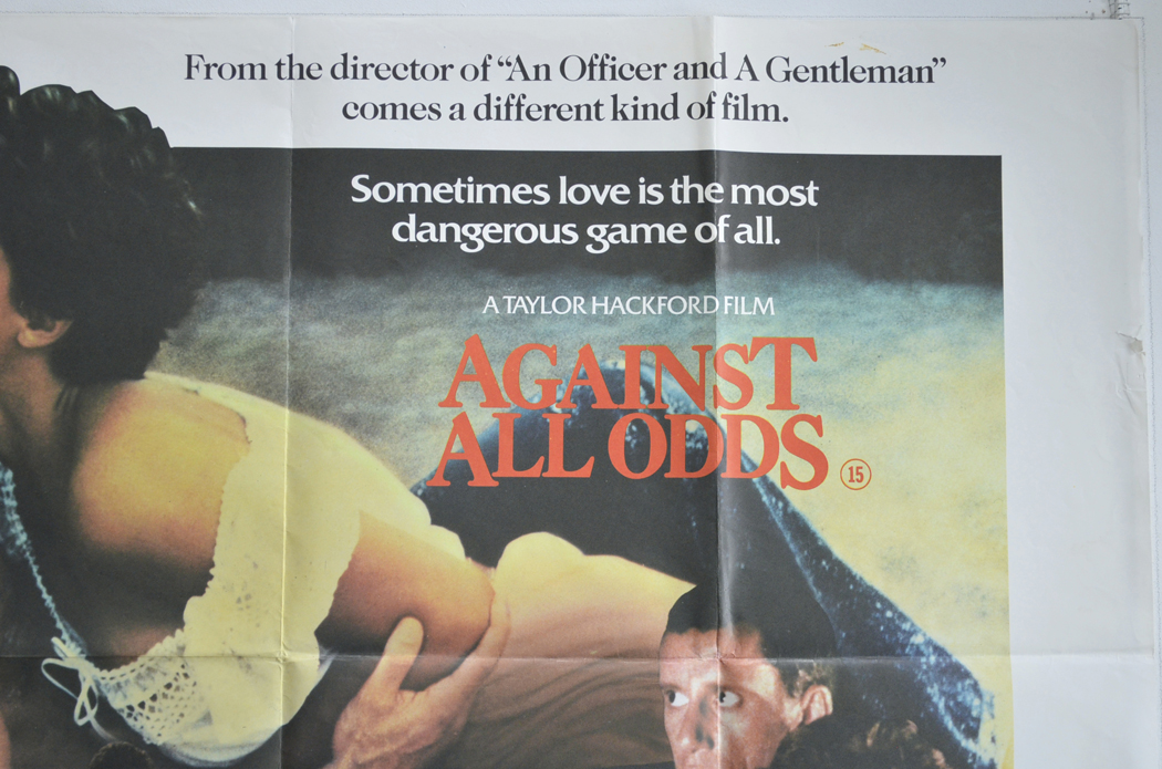 against all odds original cinema movie poster from