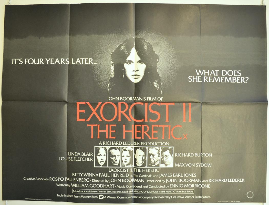 Exorcist 2 poster