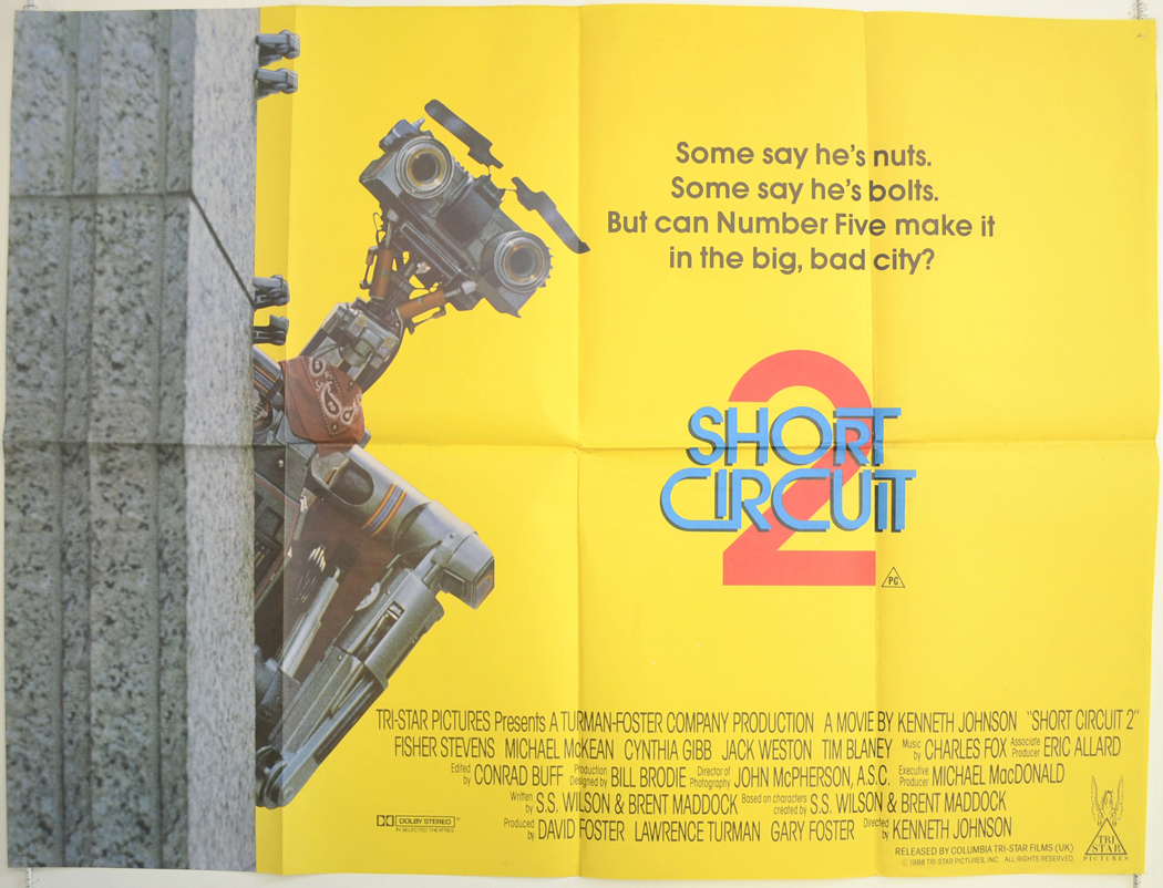 Short Circuit Movie Poster Concept Art The Extra Large Image Imp Awards Download