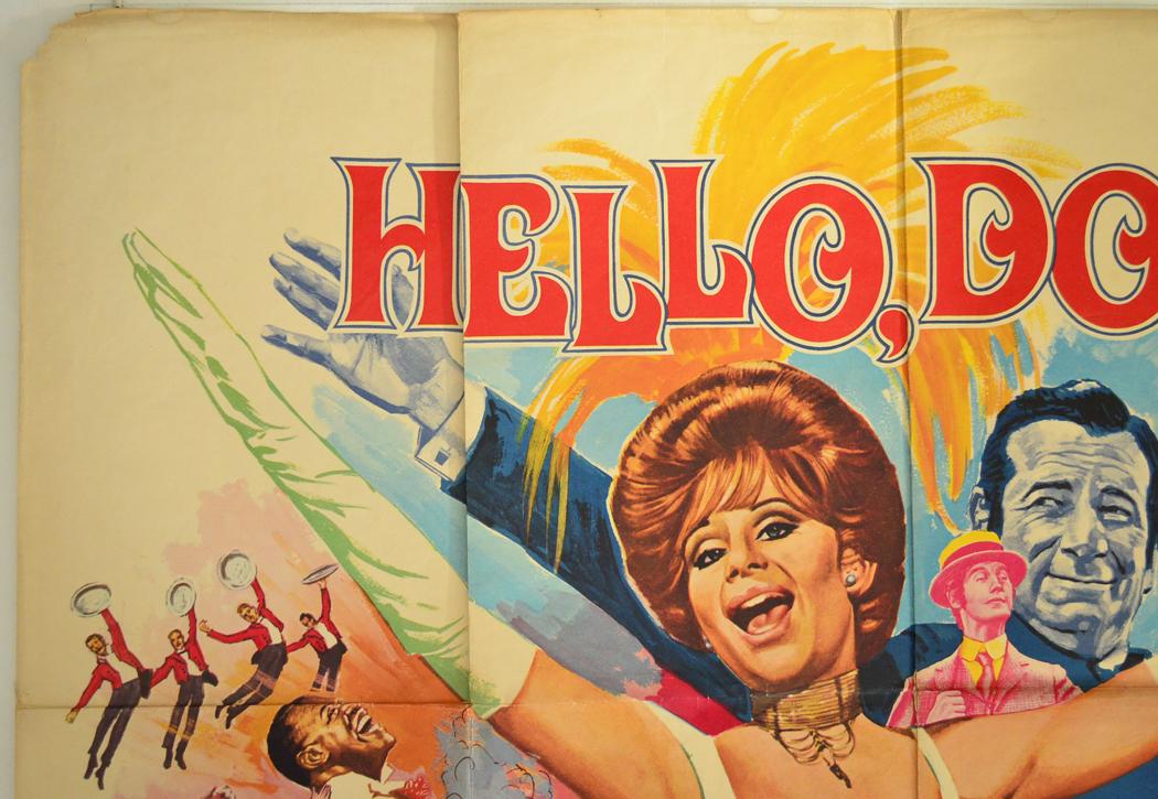 hello dolly original cinema movie poster from