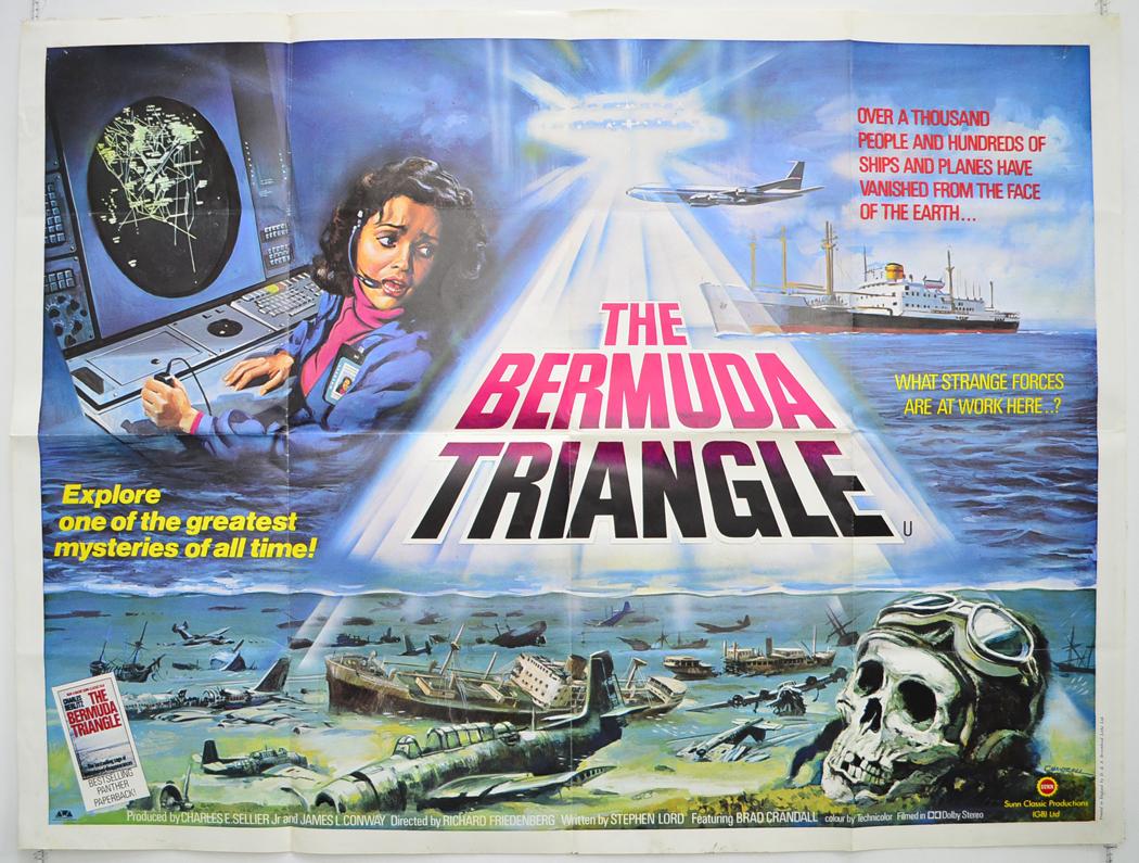bermuda triangle the original cinema movie poster from