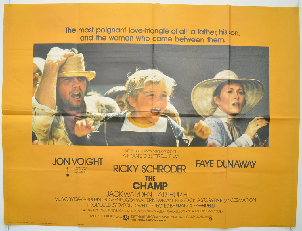 Movie Cinema From Champ (The) -  Poster Original