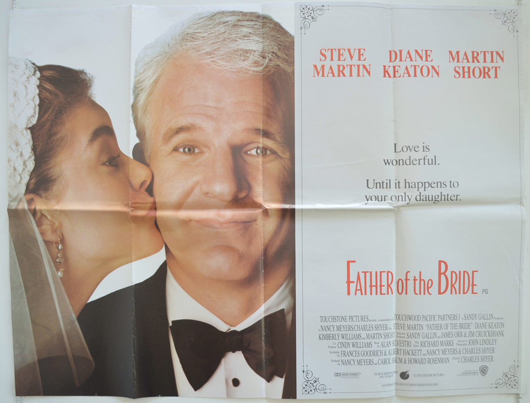 Father Of The Bride Original Cinema Movie Poster From