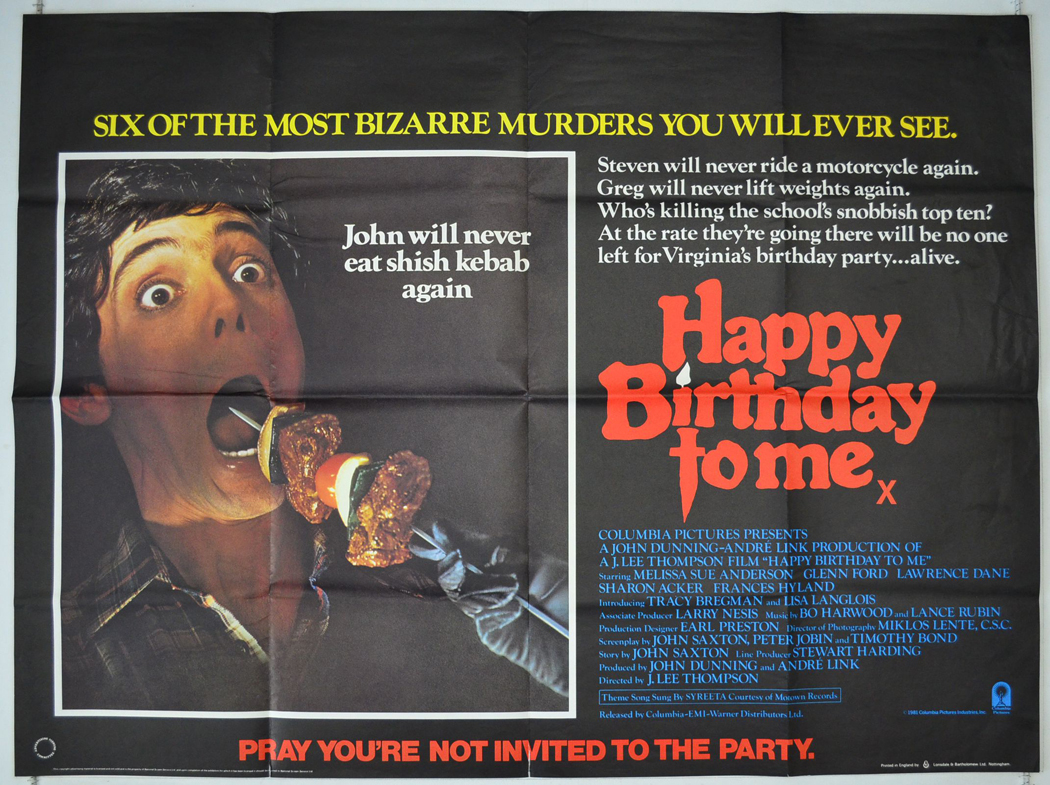 Amazon.com: Happy Birthday To Me: Melissa Sue Anderson ...