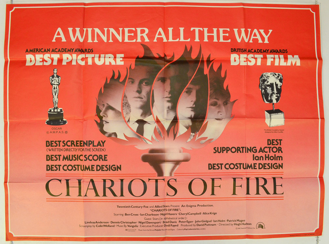 Chariots Of Fire - Original Cinema Movie Poster From ...