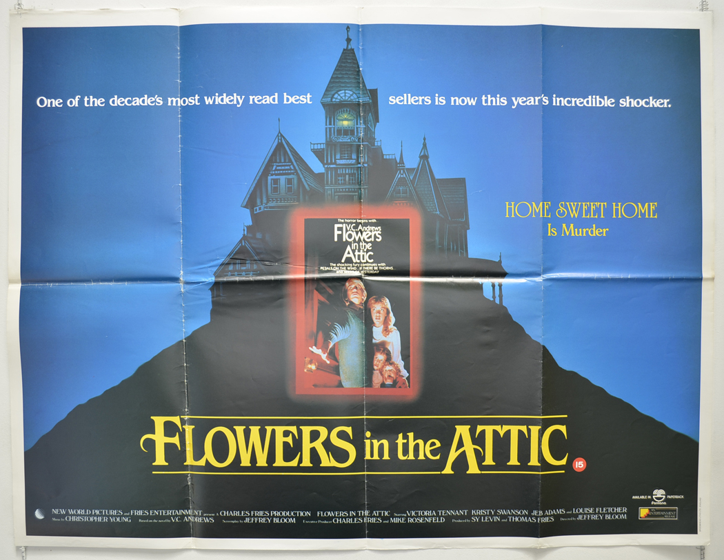 Flowers In The Attic Original Cinema Movie Poster From