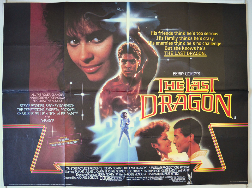 Gordy Movie Cast throughout the last dragon (1985) original quad movie poster (cropped) berry