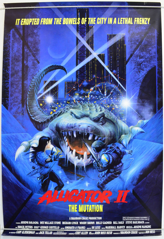 Alligator II : The Mutation - Original Cinema Movie Poster ...