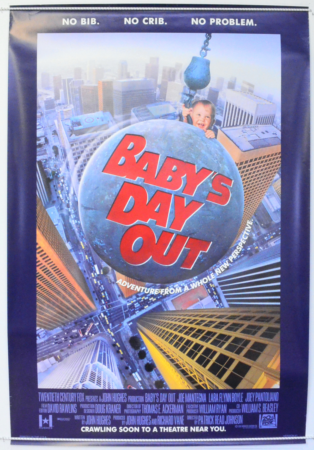 Baby S Day Out Version 1 Original Cinema Movie Poster
