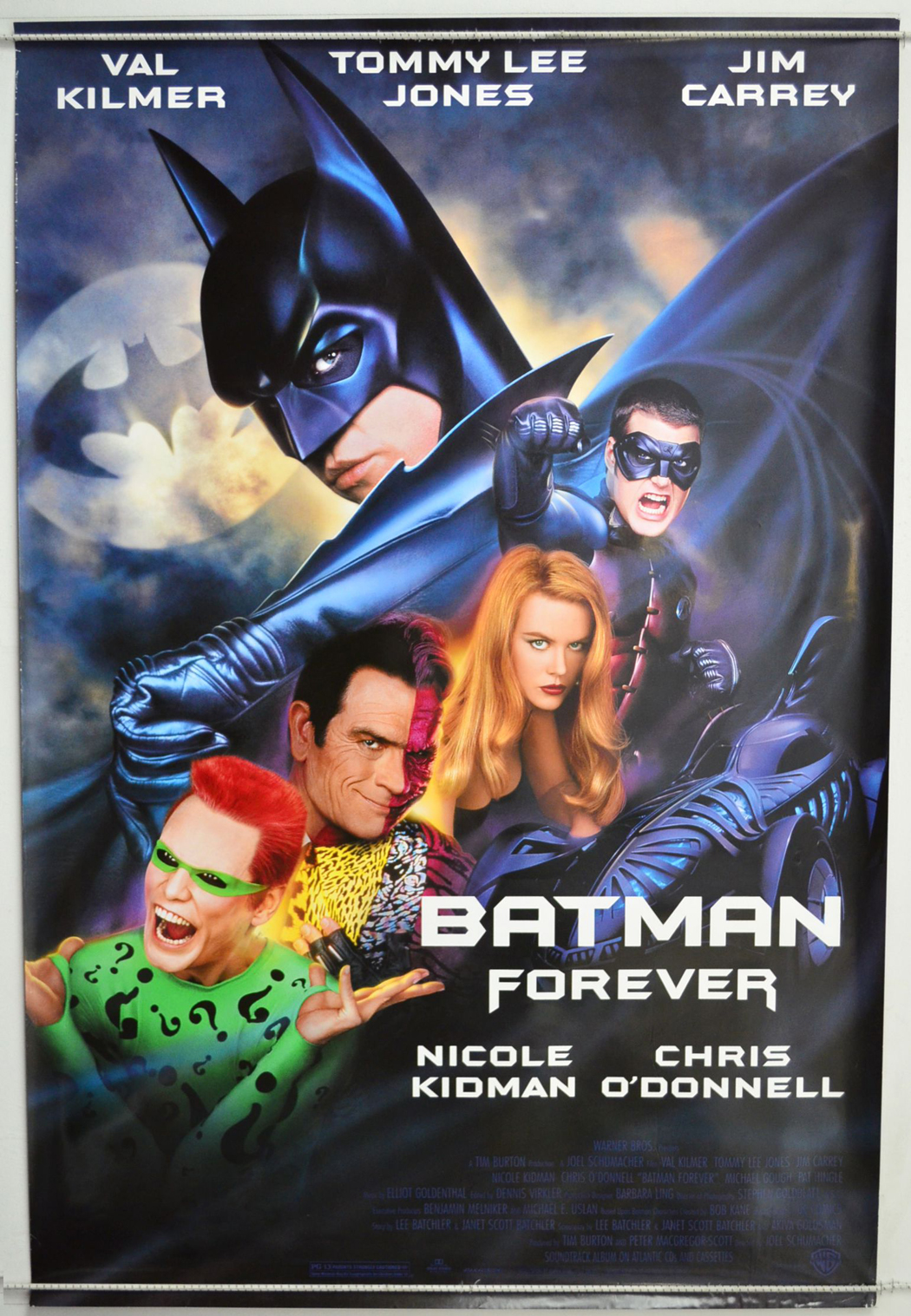 Batman Forever - Original Cinema Movie Poster From ...