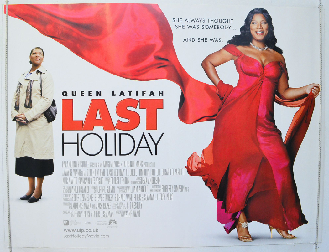 Last Holiday Original Cinema Movie Poster From