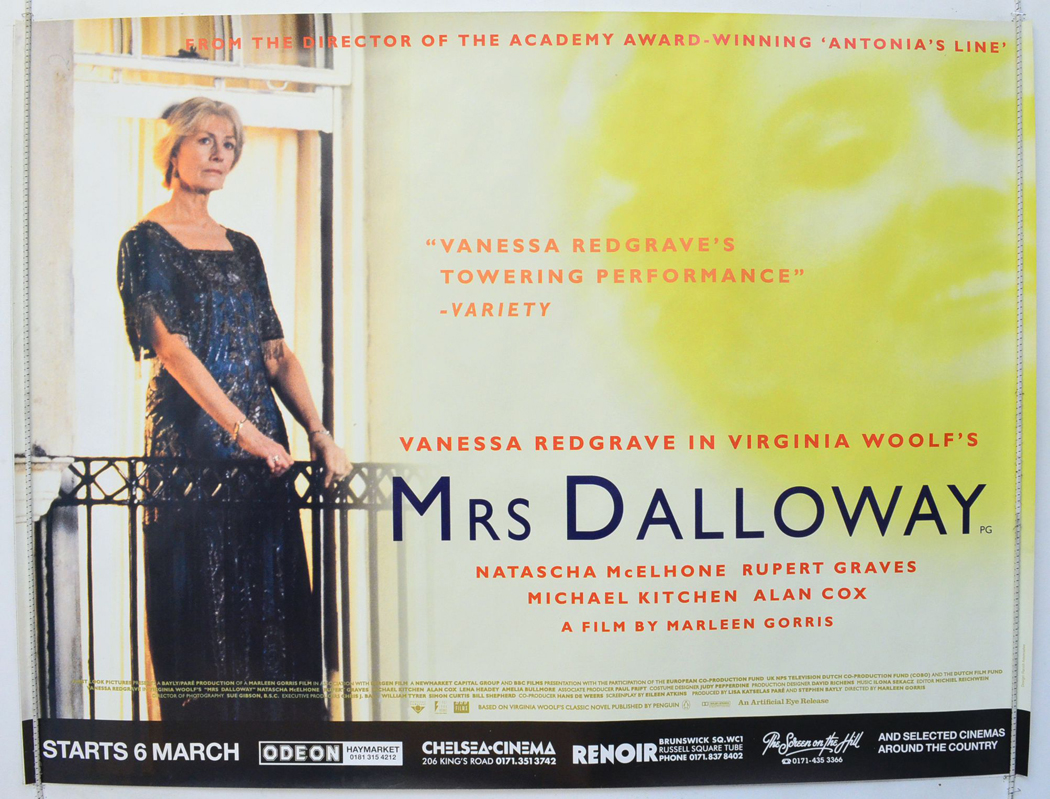 similarities in the film the hour and mrs dalloway Michael cunningham's the hours and postmodern artistic re-presentation  the hours has been made into a film representing yet another echo of woolf's mrs dauo\va.