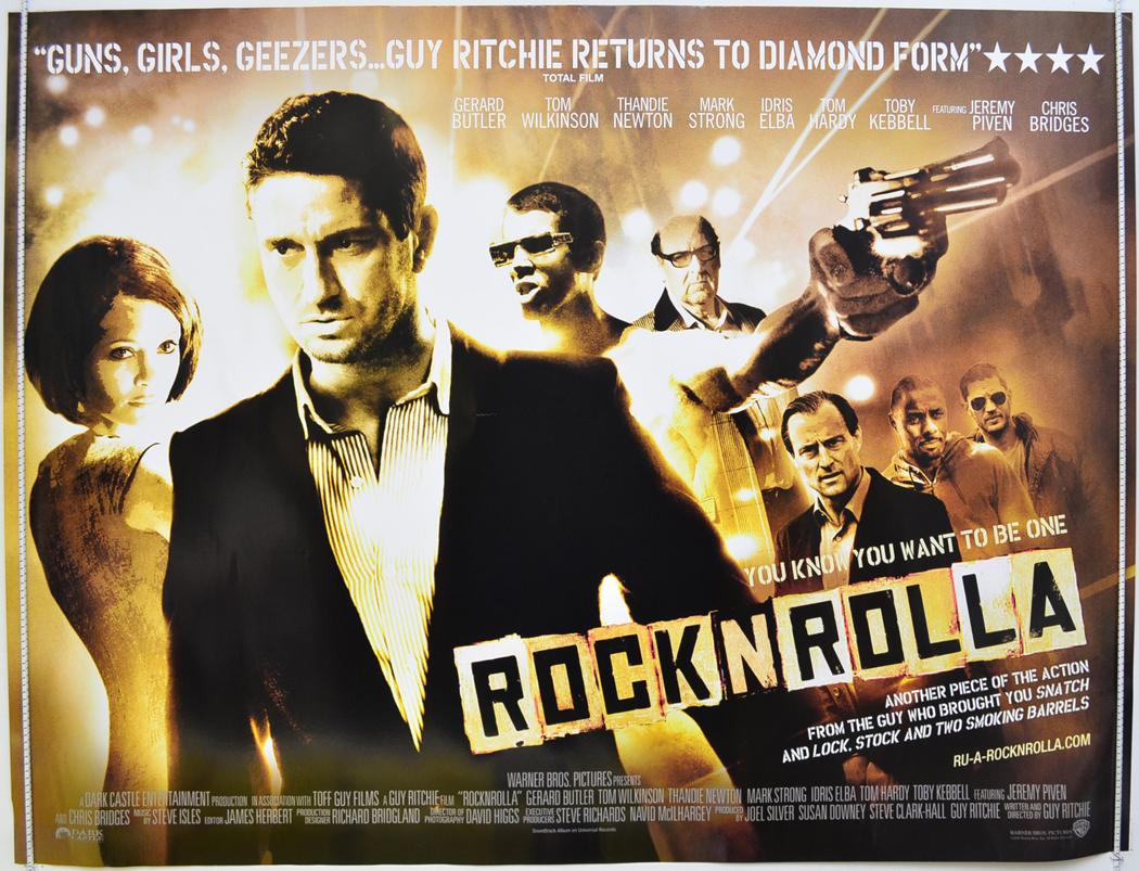 rock n rolla original cinema movie poster from