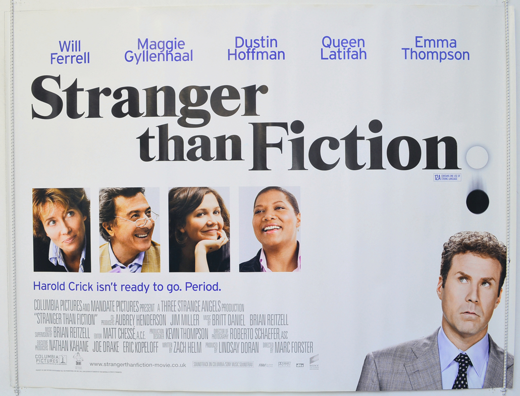 essays on the movie stranger than fiction Best ideas about alien abduction on movies to watch this week at the cinema stranger than fiction essay free essays 25 watch movie abducted movie.