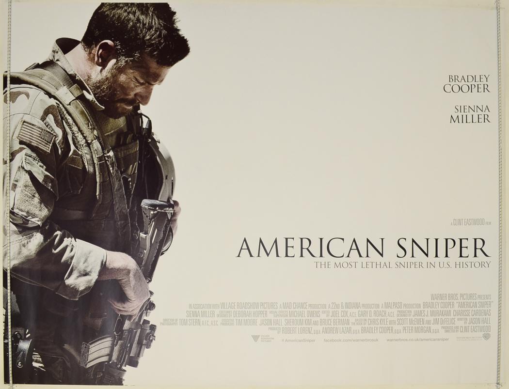 American Sniper - Original Cinema Movie Poster From ...