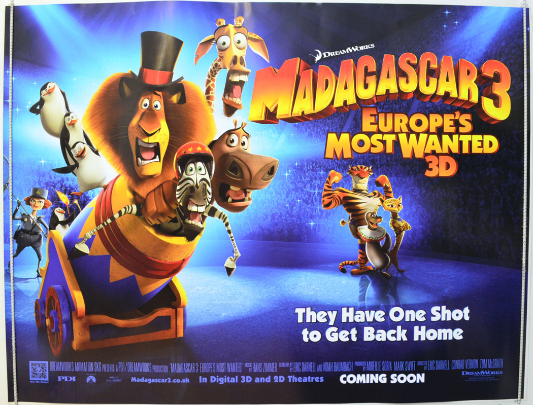 madagascar 3 poster - photo #11