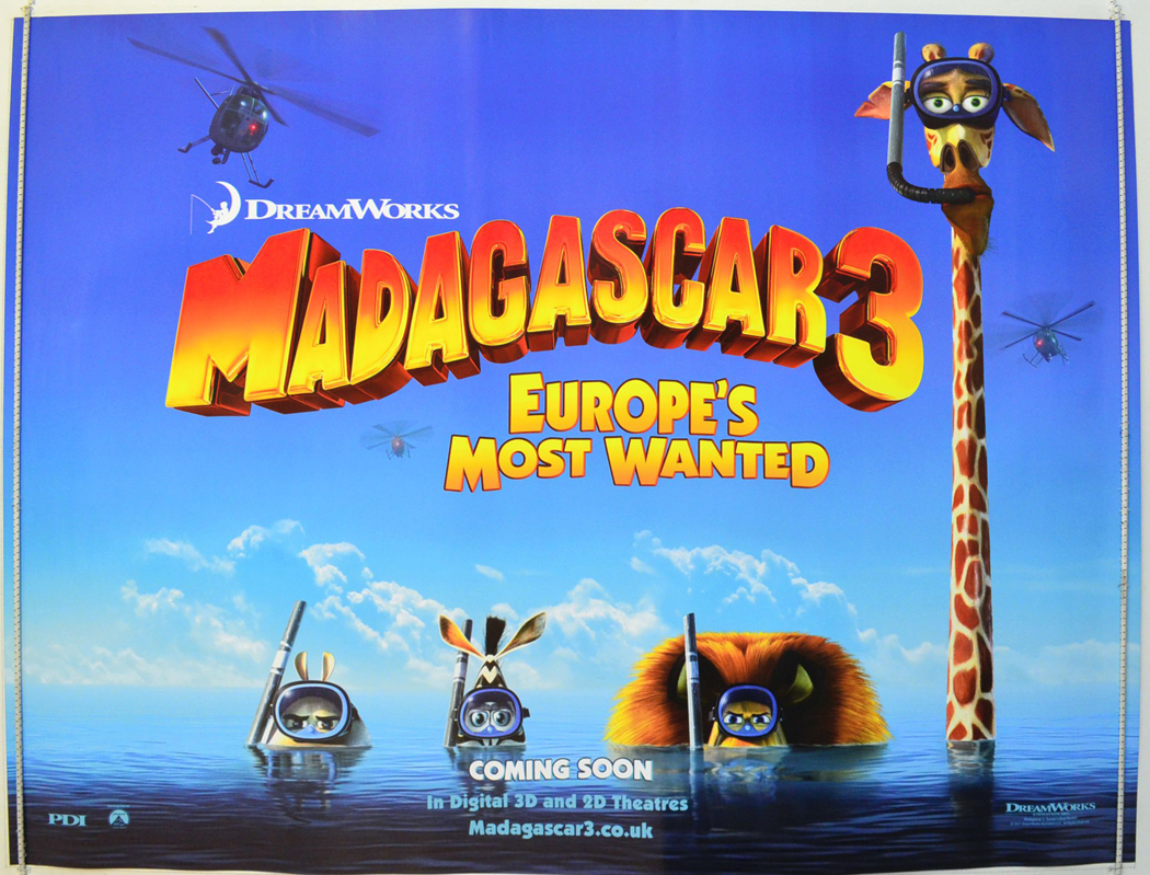 madagascar 3 poster - photo #24