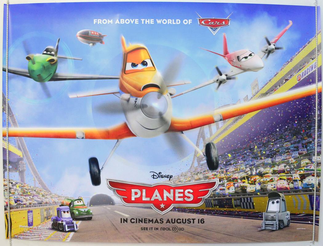 Planes - Original Cinema Movie Poster From pastposters.com ... Planes Movie Poster