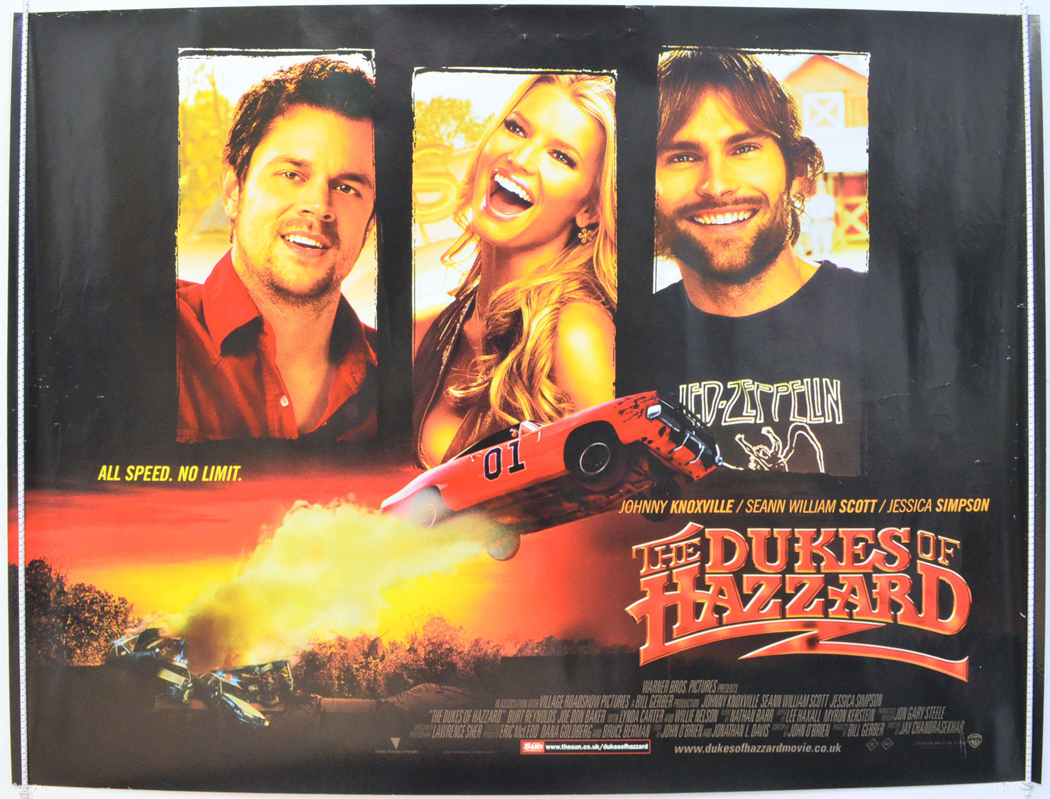 Dukes Of Hazzard The Original Cinema Movie Poster From