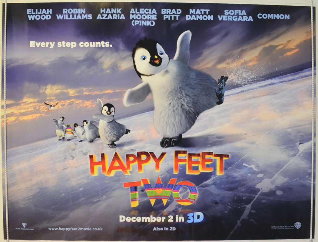 happy feet two teaser advance version original